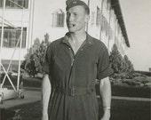 Airman Ray Weber 1941 Original Vintage Photo 151
