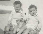 Double Take Original Vintage Photo 43