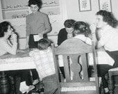 Planning Something Fun Original Vintage Photo 554