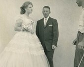Belle of the Ball Original Vintage Photo 677