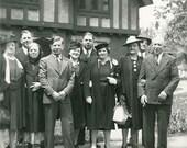 The Get-together 1930s Original Vintage Photo 804