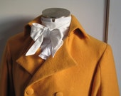 72in Cravat, in white striped cotton, for Mr Darcy and other Regency men