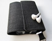 Nerd Herder gadget wallet in Well Suited for iPhone, Android, iPod, camera, SD cards, USB, batteries, guitar picks, IDs, cards, phone