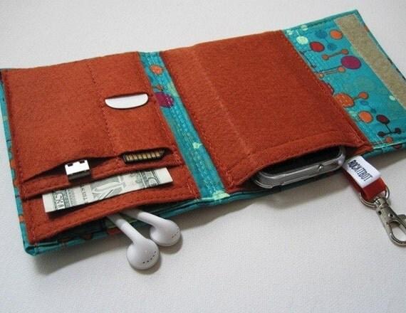 Reserved for misshojo---- Nerd Herder 2.0 odds and ends gadget wallet in Lounge