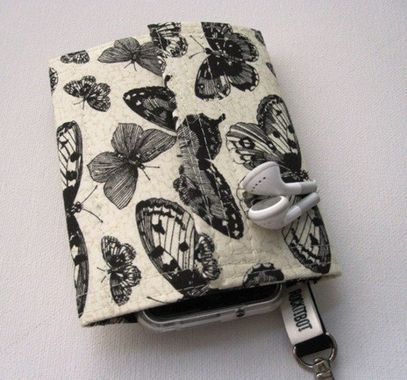 Nerd Herder odds and ends gadget wallet in Lepidopterology