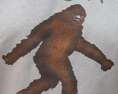 Me Shy Bigfoot Elusive Sasquatch MENS T-Shirt