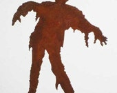 Zombie Coming at YOU Steel Refrigerator Magnet
