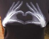 Heart of Xray Hands T-Shirt