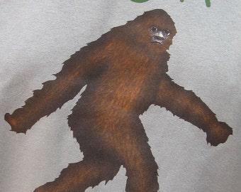 Me Shy Bigfoot Elusive Sasquatch 2XL and Larger T-Shirt