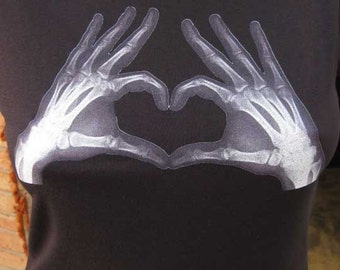 Heart of Xray Hands T-Shirt