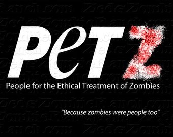 Zombie Shirt - People for the Ethical Treatment of Zombies T-Shirt