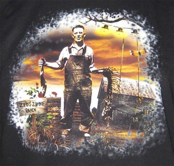 Zombie Shirt - Zed's Zombie Ranch Colorful Sunset T-Shirt