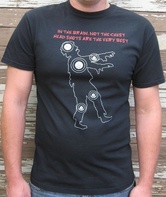 Zombie Shirt - Zombie Target Practice T-Shirt