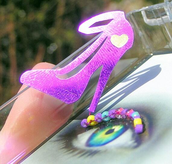 False Eyelashes - Purple Stilettos - Eyelash Jewelry