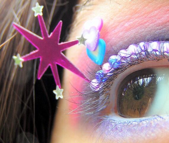 Twilight Sparkle Eyelash Jewelry - my little pony friendship is magic false lashes