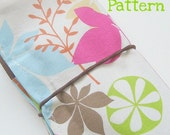 Tampon Wallet and Roll -- PDF Sewing Pattern and Tutorial eBook