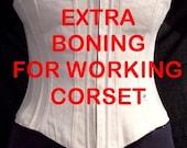 Extra Boning for Working Corset Styles - 1 Set of 2 Bones