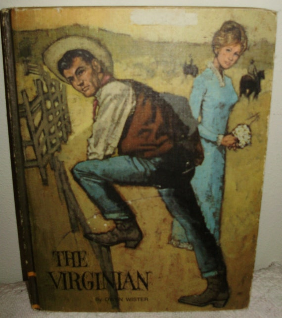 The Virginian by Owen Wister Vintage Book 1968