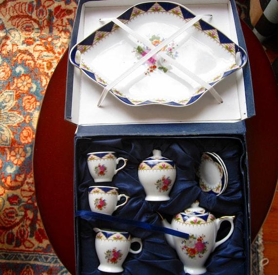 Mini Tea Set 10 Piece Adeline Collection