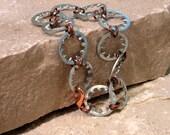 Copper and Gears Bracelet