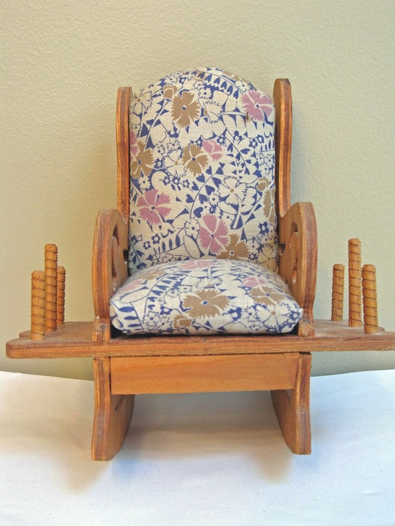 Vintage Pin Cushion Spool Rocking Chair By TinkAndTottie On Etsy