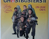 "VERY RARE ""Ghostbusters 2"" Bobby Brown Vinyl Single (1989) - Sealed"