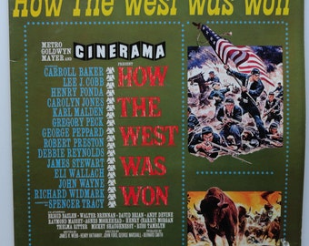 How the West Was Won Vinyl Soundtrack - Very Good Condition