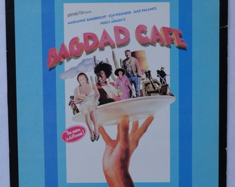 "Rare ""Bagdad Cafe"" Vinyl Soundtrack (1988) - Very Good Condition"