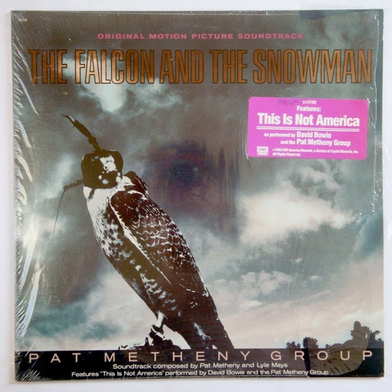 The Falcon and the Snowman Vinyl LP Record Soundtrack -- NEAR MINT
