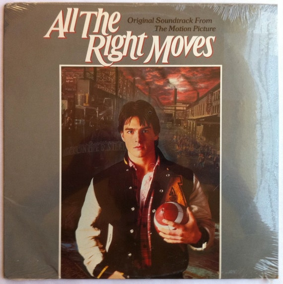 VERY RARE All The Right Moves Vinyl Soundtrack -- SEALED