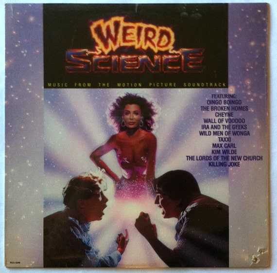 "Rare ""Weird Science"" Vinyl Soundtrack -- Sealed"