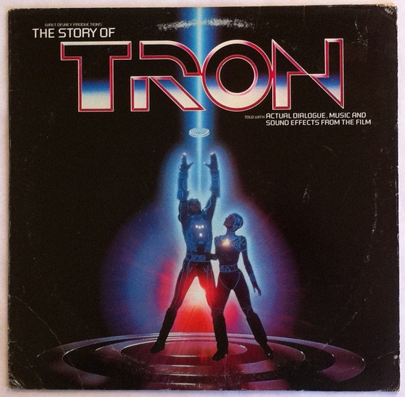 VERY RARE Tron Vinyl LP Soundtrack - Very Good