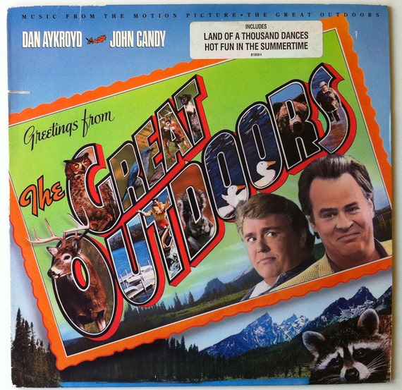 VERY RARE The Great Outdoors Vinyl Soundtrack John Candy Dan