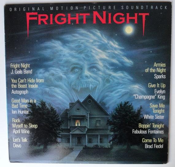 "Rare ""Fright Night"" Vinyl Soundtrack - Very Good Condition"