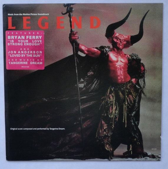 "Rare ""Legend"" Vinyl Soundtrack (American Version) Tangerine Dream (1986) - Very Good Condition"