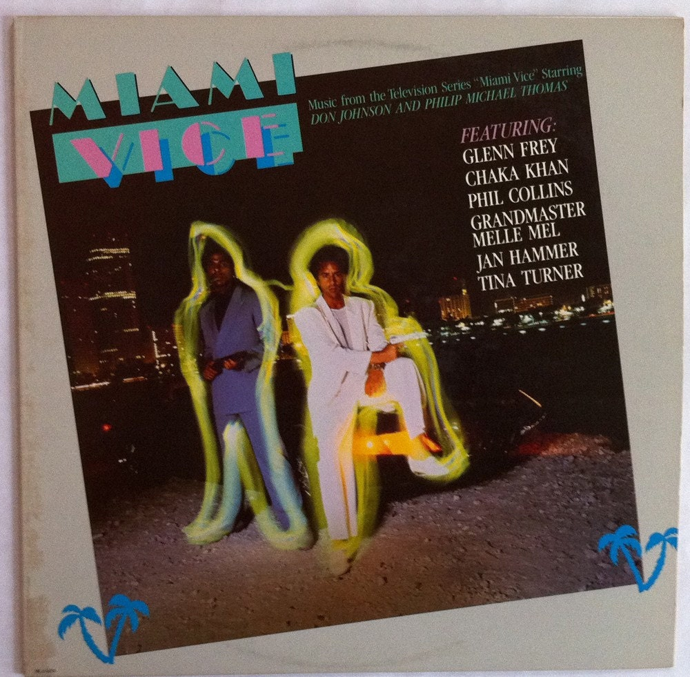 Miami Vice Vinyl Soundtrack 80s Phil Collins Tina Turner