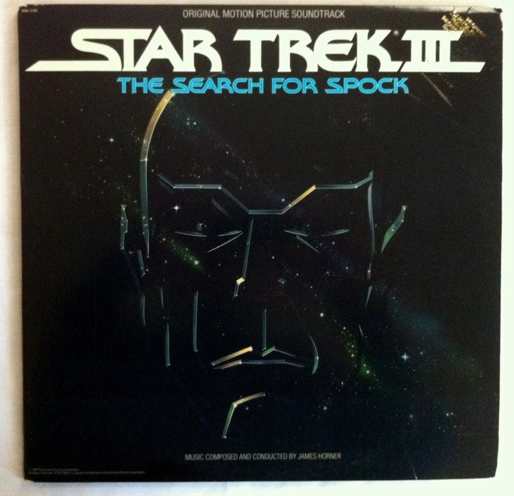 VERY RARE Star Trek III: The Search For Spock Vinyl Soundtrack
