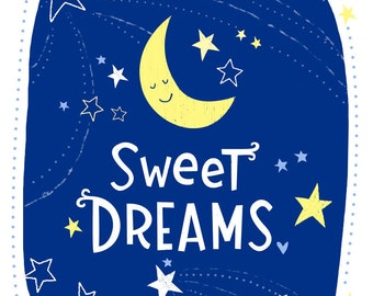 Sweet Dreams Wall Art Print