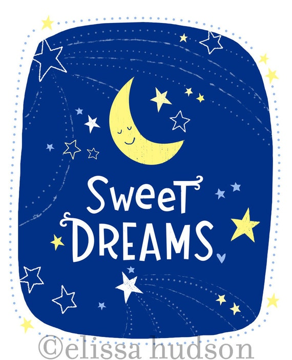 Sweet Dreams Wall Art Print