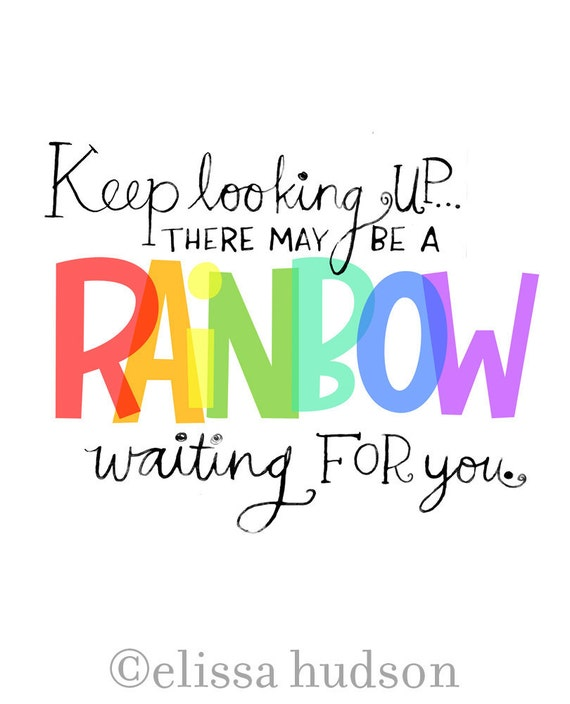 Rainbow Wall Art Print