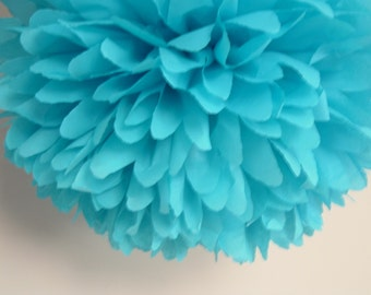 Set of 10 POMS...PICK COLORS..Featured in Southern Living Magazine..