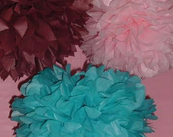 Set of 20 Poms for your next special event