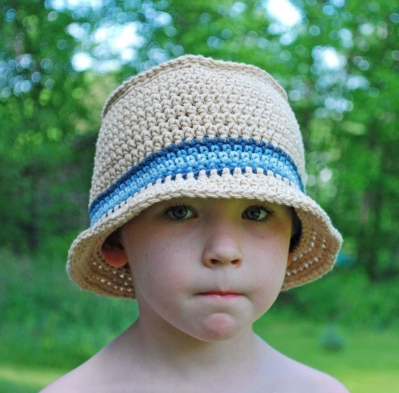 PATTERN Crochet Bucket Hat PDF No 104 - Instant Download ...