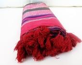 NATURAL Silk Cotton ,Eco Friendly PESHTEMAL,SHAWL High Quality Hand Woven Turkish Silk & Cotton Bath,Beach,Spa,Yoga,Pool Towel