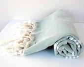 Peshtemal Organic,Eco Friendly,Natural %100 COTTON,High Quality Hand Woven Turkish Cotton Bath,Beach,Spa,Yoga,Pool Towel