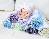 4 CottonTowels,set of 4 NATURAL Cotton,Eco Friendly PESHTEMAL,High Quality Hand Woven Turkish Cotton Bath,Beach,Spa,Yoga,Pool Towel