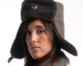 AUTHENTIC New UNISEX East German Winter Hat / Ushanka (Sizes Small-Large)