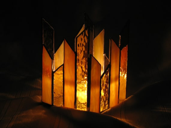 Votive Candleholder Stained Glass
