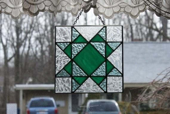 Stained Glass Sun Catcher Quilt Block Missouri Star