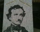 A trio of Poe gift tags